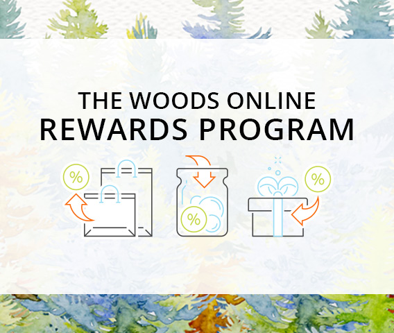 Proudly Introducing The Woods Rewards