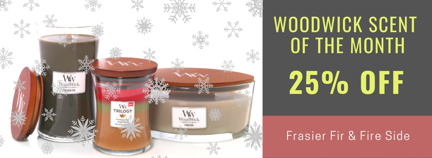 Woodwick Candles Scent of the Month