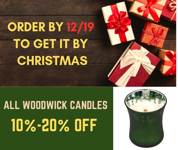 All Woodwick Candles