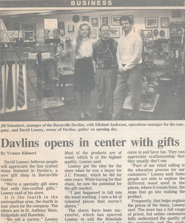 Davlins Gift Center